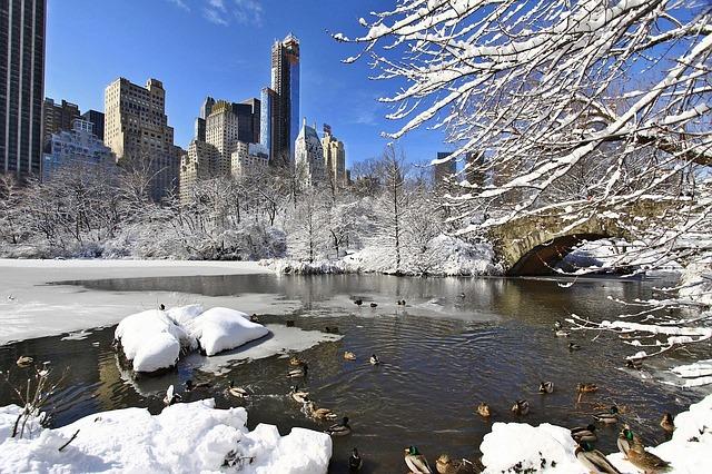 Winter Buildings_New York