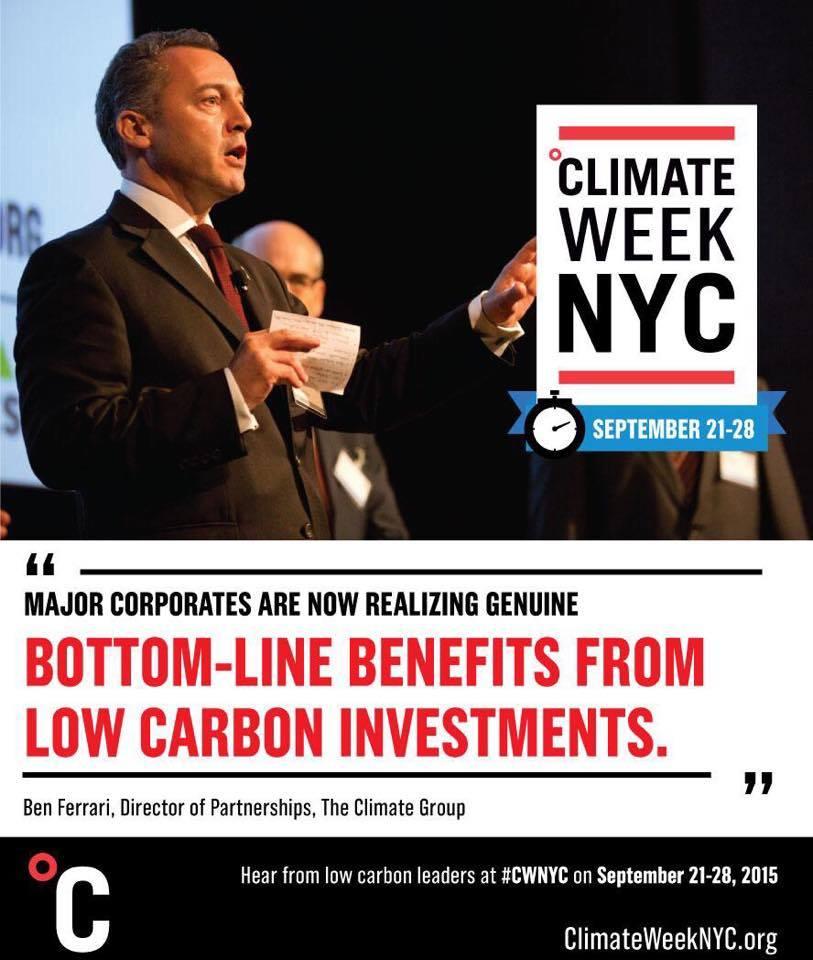 The Climate Group - Ben Ferrari
